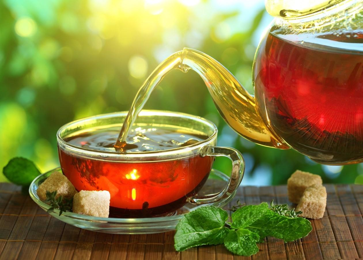 Přírodní čaje
